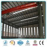 Здание фабрики стальной структуры света широкой пяди с краном
