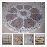 Cobblestone naturale del giardino del granito/pietra per lastricati per il giardino esterno