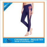 Commerce de gros de la mode de compression de Salle de Gym Sports Yoga Leggings pantalons d'usure