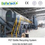Рециркуляционная система бутылки любимчика 1500 Kg/H неныжная шелушится горячий завод моющего машинаы