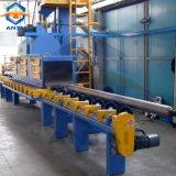 Dispositifs fulminants de sable de pipe en acier et qualité de machine de grenaillage meilleure
