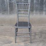 Resina branca de Metal forte Chiavari cadeira com osso de Metal
