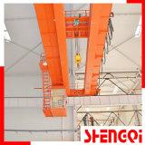 La Chine haut Fabricant poutre double pont roulant, grue de pont