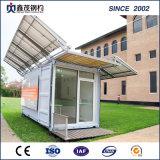 太陽ボードが付いているモジュラー携帯用容器の家の記憶装置
