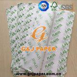 papier d'emballage 21GSM estampé par 245*345mm pour l'emballage de nourriture