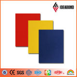 IDEABOND color sólido de aluminio de pared Panel compuesto de decoración del interior