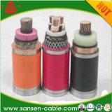 Yjv kupfernes Kern XLPE Isolier-Belüftung-Kabel-/Electrical-Kabel-und Draht-Energien-Kabel