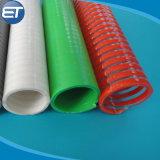 Tubo flessibile ad alta pressione del tubo di aspirazione della pompa ad acqua del PVC con i montaggi