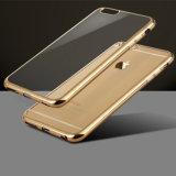 iPhone 8のための電気めっきTPUの携帯電話の箱