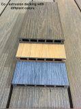Tablier de bois composite en plastique, plastique, WPC tablier de bois de sciage