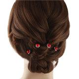 Cristal de moda Pearl os pinos de cabelo Casamento Flower Suite Pins barbeiro