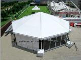 Het water-brand-Bewijs 10m van het Frame van het aluminium Tent van de Pagode van het Huwelijk van de Diameter de Hexagonale