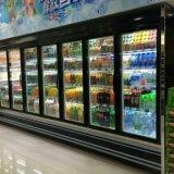 スーパーマーケットのためのマルチドアの表示冷却装置の自動霜を取り除きなさい