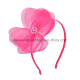 Neue Form-Blumen-erwachsener Mädchen-Stirnband-Farbband-Bogen Hairbands