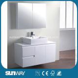 ガラスドア(SW-C1500LG)が付いている高品質のオーストラリア様式の浴室の虚栄心のキャビネット