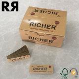 La fabricación de OEM Accesorios fumadores papel de rodadura Tip/cucarachas