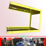 Precision Laser切断および溶接による製造サービスのためのシート・メタルが付いている陳列だな