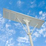 Uso esterno 120W tutto di alto lumen in un indicatore luminoso di via solare