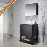 Voeden-1204 Kabinetten van de Badkamers van 32 Duim Hete Verkopende Grijze Eindigende Moderne