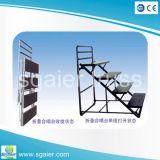 중국 공급자 판매를 위한 이동할 수 있는 휴대용 단계 플래트홈 성가 또는 성가대 또는 합창 라이저