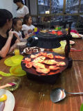 Appareil de cuisine BBQ Four à convection à charbon de bois (ZJLY)