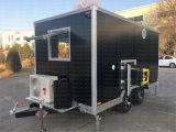 Foodingの販売の通りの食糧カートの喫茶店のセリウムが付いている移動式食糧トラック