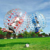 La calidad de la parte superior del cuerpo de TPU Bumper Zorb Ball, balón de fútbol de la burbuja para adultos D5097