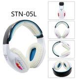 Fone de ouvido Bluetooth com luz LED e FM, Micro SD de suporte