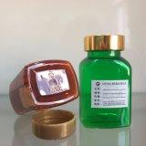 Frasco farmacêutico plástico vazio do empacotamento plástico do produto dos cuidados médicos do frasco do animal de estimação 120cc do produto comestível