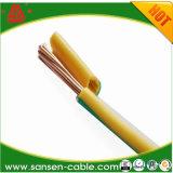 Cabo distribuidor de corrente isolado PVC de fio elétrico (H07V-U)
