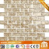 Mozaïek van het Glas van de Strook van de Fabriek van China het Gouden voor de Decoratie van de Muur (G838003)