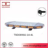 56W estroboscópico de aluminio mini Lightbar (TBD08966-14-4L) del marco LED