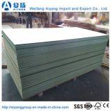 MDF impermeable verde de Hmr cubierto con el papel de la melamina