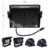 Het Systeem van de Camera van de Auto van de Veiligheid van de vierling met Monitor 7inch Ahd1080p