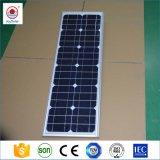 12V 24V al aire libre de energía solar integrada en una calle LED Luces de carretera