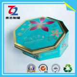 Коробка олова восьмиугольная для еды