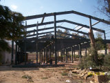 Стальные конструкции здания для сельского хозяйства склад