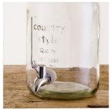 [5ل] يخلي مستديرة [كونتري ستل] زجاجيّة شراب موزعة
