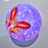1 Dutzend von LED leuchten Funkeln-federnd Kugeln mit bunter Basisrecheneinheit, Confetti und LED-Blitzgeber (Partei-Bevorzugung)