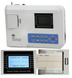 Bonne qualité reposant la machine de l'électrocardiographe ECG de simple canal de 12 fils