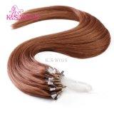 Estensione facile dei capelli della cheratina dell'anello di vendite delle parrucche del K.S di Mirco dei capelli caldi dell'anello
