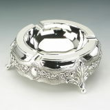 Silverplated (YA14401BL)の灰Tray