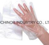 Перчатки LDPE легкого выбора устранимые пластичные для сервиса связанного с питанием