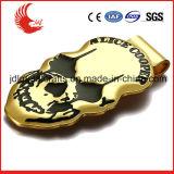 Tamaño precio de fábrica de acero inoxidable estándar de oro clip dinero