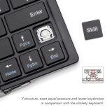Новый металл перемещения прибытия складывая клавиатуру Bluetooth таблетки клавиатуры Bluetooth 3.0 портативную