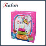 Personalizar feliz cumpleaños con pastel de 3D Bolso de regalo de compras