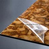 Non-Asbestos recubierto de UV de la junta de fibra de cemento, de la Junta de cemento de alta densidad de PVDF