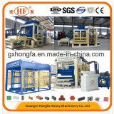 Macchina del mattone, macchina per fabbricare i mattoni, blocco che forma macchina, blocco in calcestruzzo che fa macchina