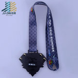 Medaglia su ordinazione di maratona del metallo di marchio del pavone dello smalto dei punti all'ingrosso per le merci di sport