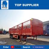 Titan-Fahrzeug - Ladung-Flachbettsattelschlepper 60t mit 3 Wellen für Verkauf